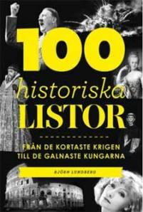 100 historiska listor