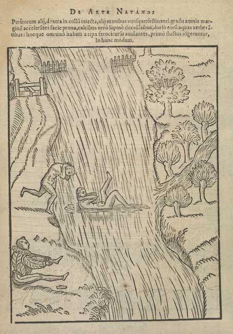 De arte natandi, 1587