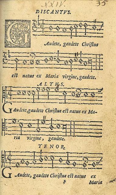 Gaudete 1582